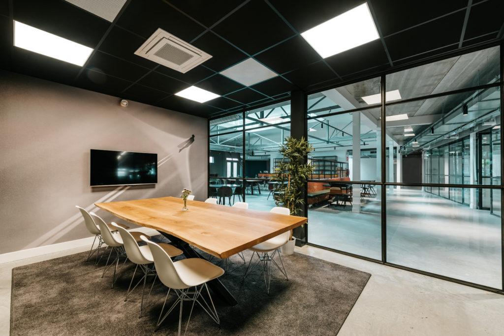 Fotobehang op kantoor inspireert klanten en werknemers