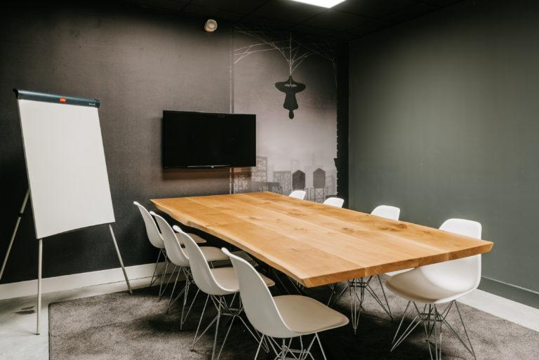 Fotobehang vergaderruimte op kantoor