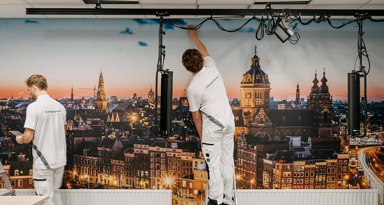 Airtex behang Johan Cruijff Arena