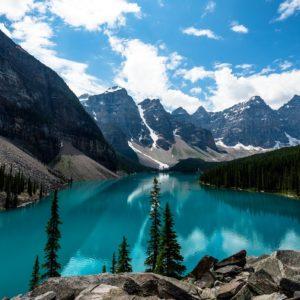 canada-foto-lake-loise-fotobehang