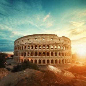 foto Rome Colosseum voor fotobehang
