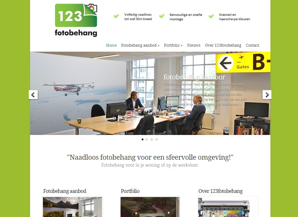Fotobehang website 2013
