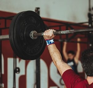 Fotobehang crossfit club