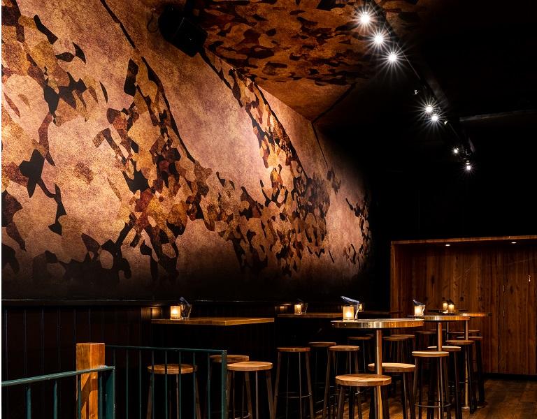 fotobehang horeca cocktailbar Utrecht - Montage door 123fotobehang