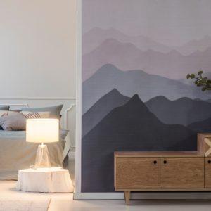 Fotobehang voor hotel interieur of meerdere hotelkamers