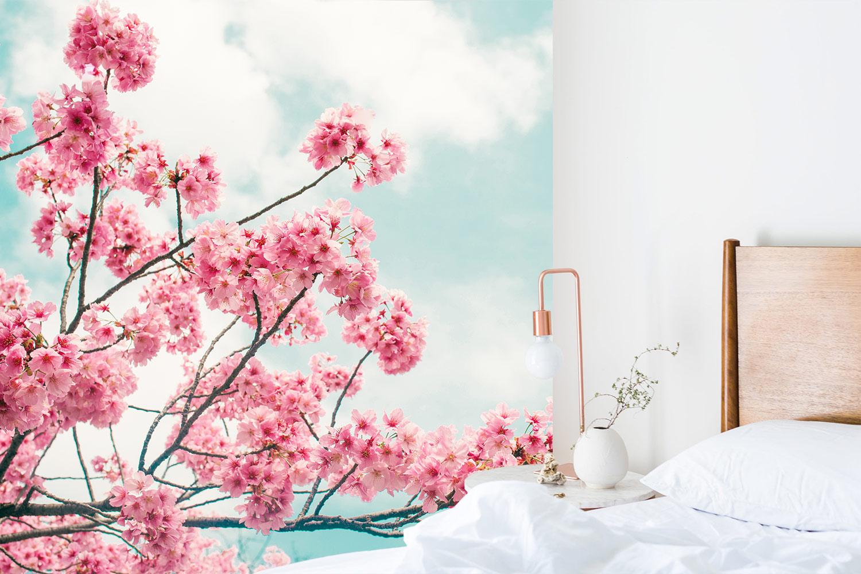 bloesem slaapkamer scandinavisch interieur