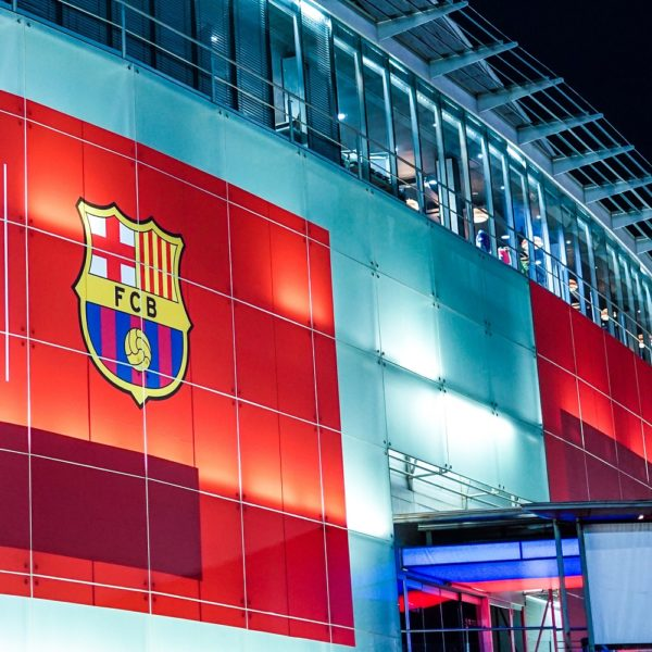 Fotobehang FC BArcelona - Camp Nou stadion