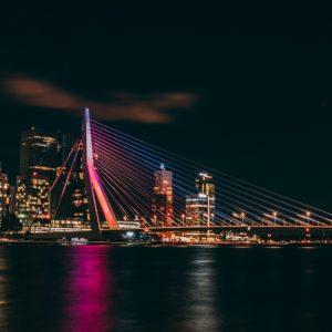 Fotobehang Rotterdam