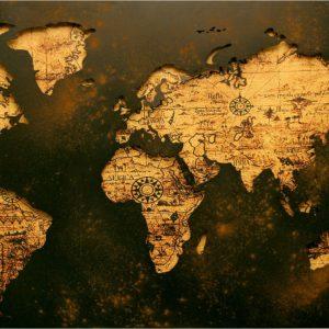 Foto 7 Wereldkaart