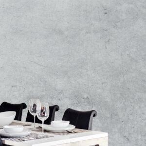 diner beton muur print op naadloos behang