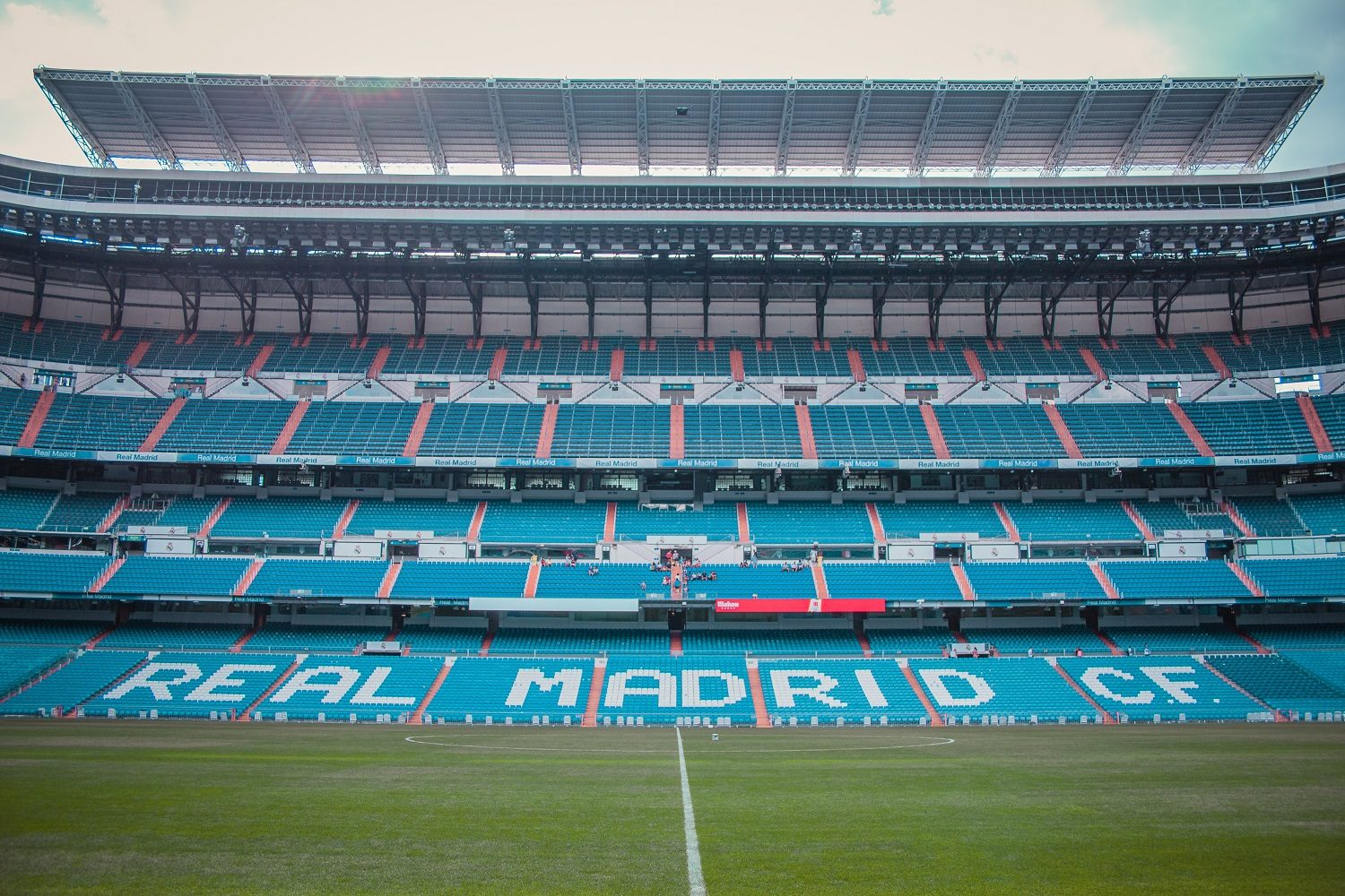 Fotobehang stadion Real Madrid