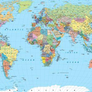 Foto 2 Wereldkaart
