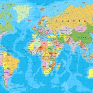 Foto 3 Wereldkaart