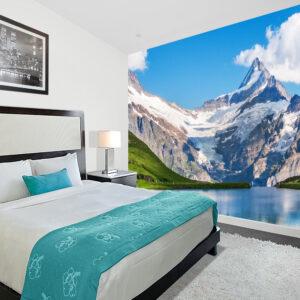 natuur interieur behang bergen landschap