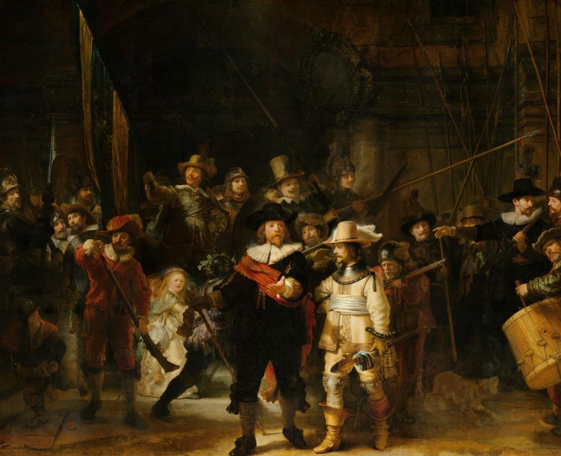 Nachtwacht Rembrandt van Rijn