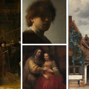 Oude meesters collectie voor fotobehang