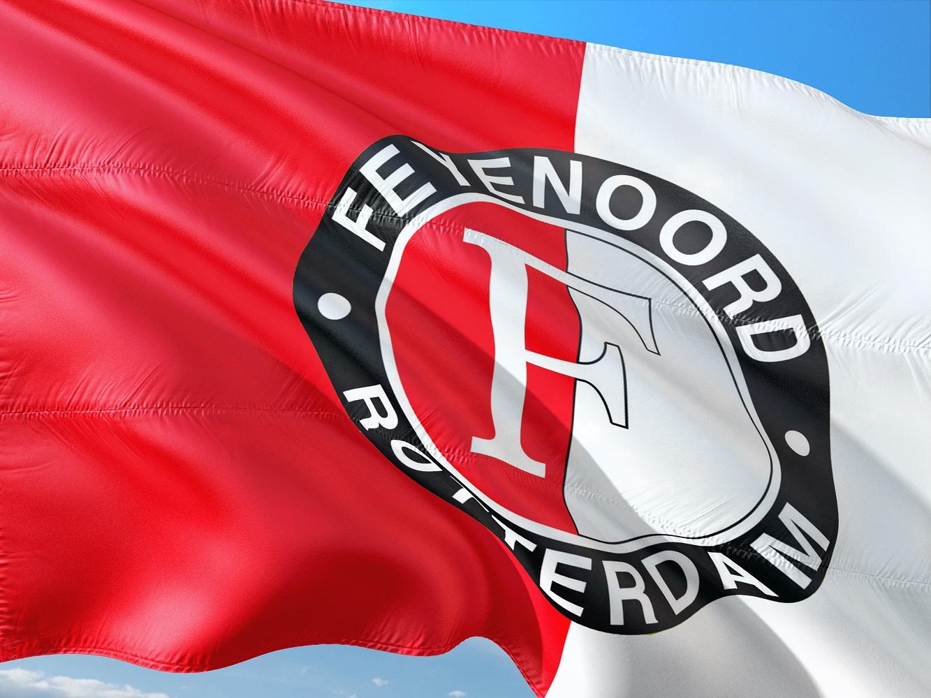 Feijenoord Rotterdam stadion voor fotobehang