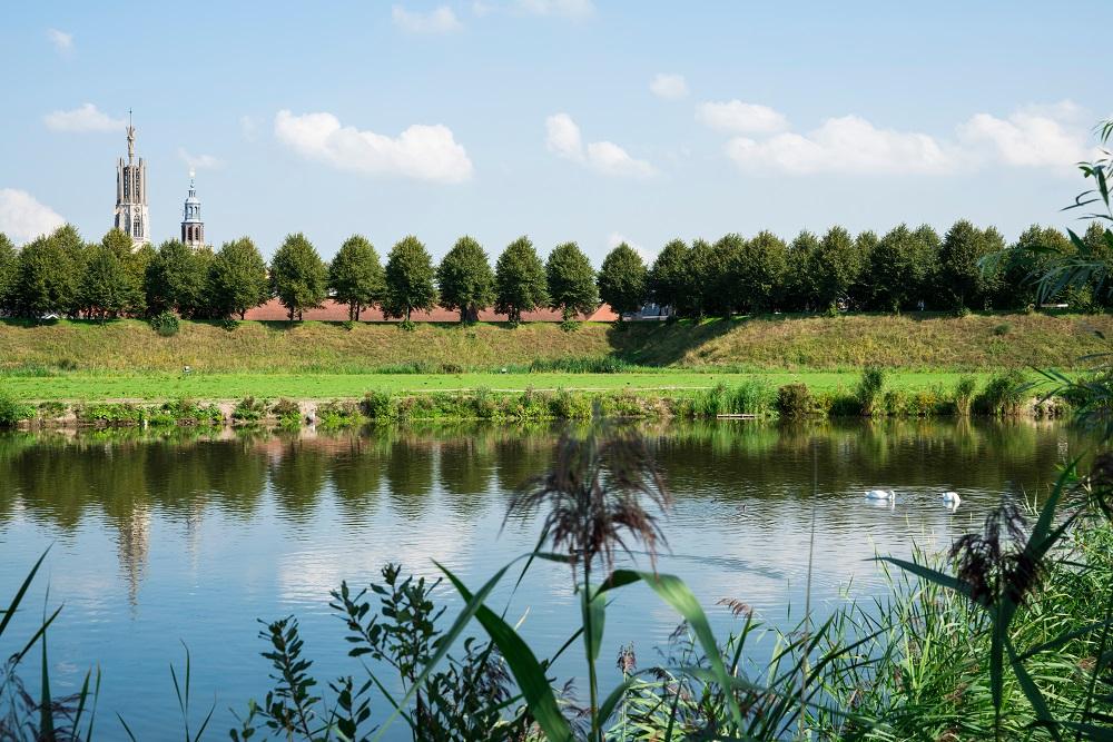 De bossen van Clinge en St. Jansteen in Zeeland