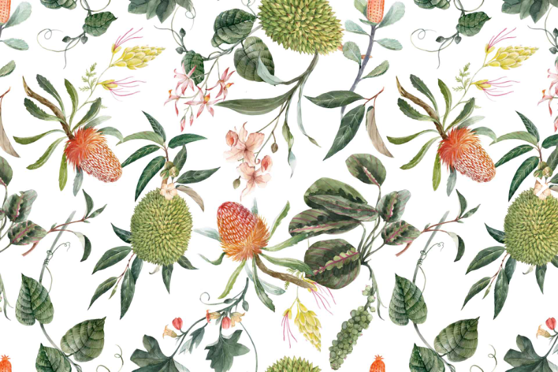 You are Enough - Botanical - Cara Saven Wall Design