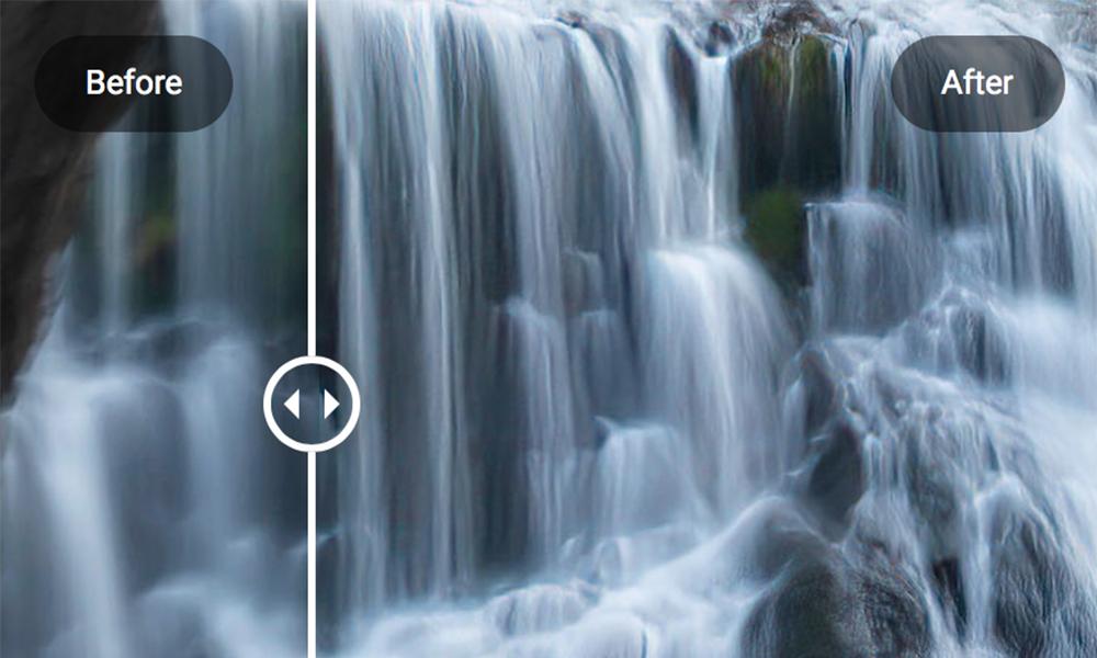 eigen foto waterval laten otimaliseren voor fotobehang nieuw
