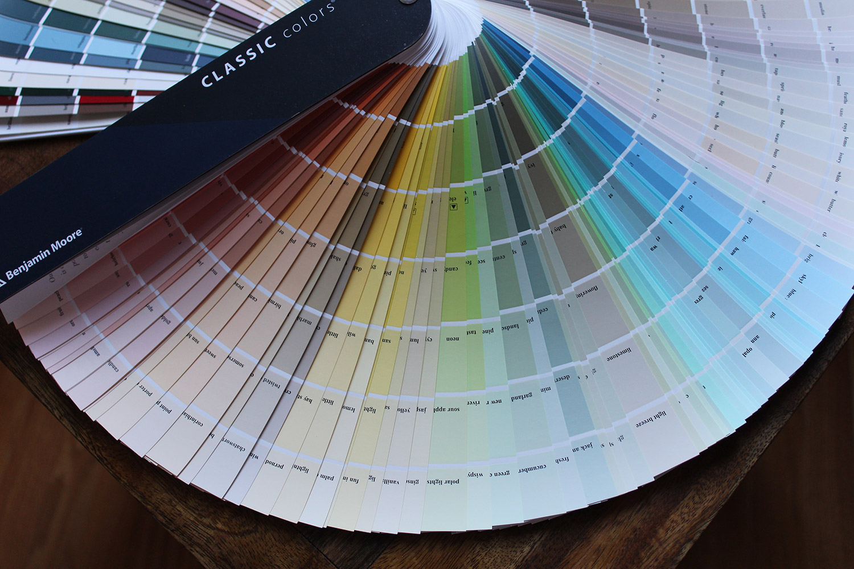 kleur kiezen voor fotobehang