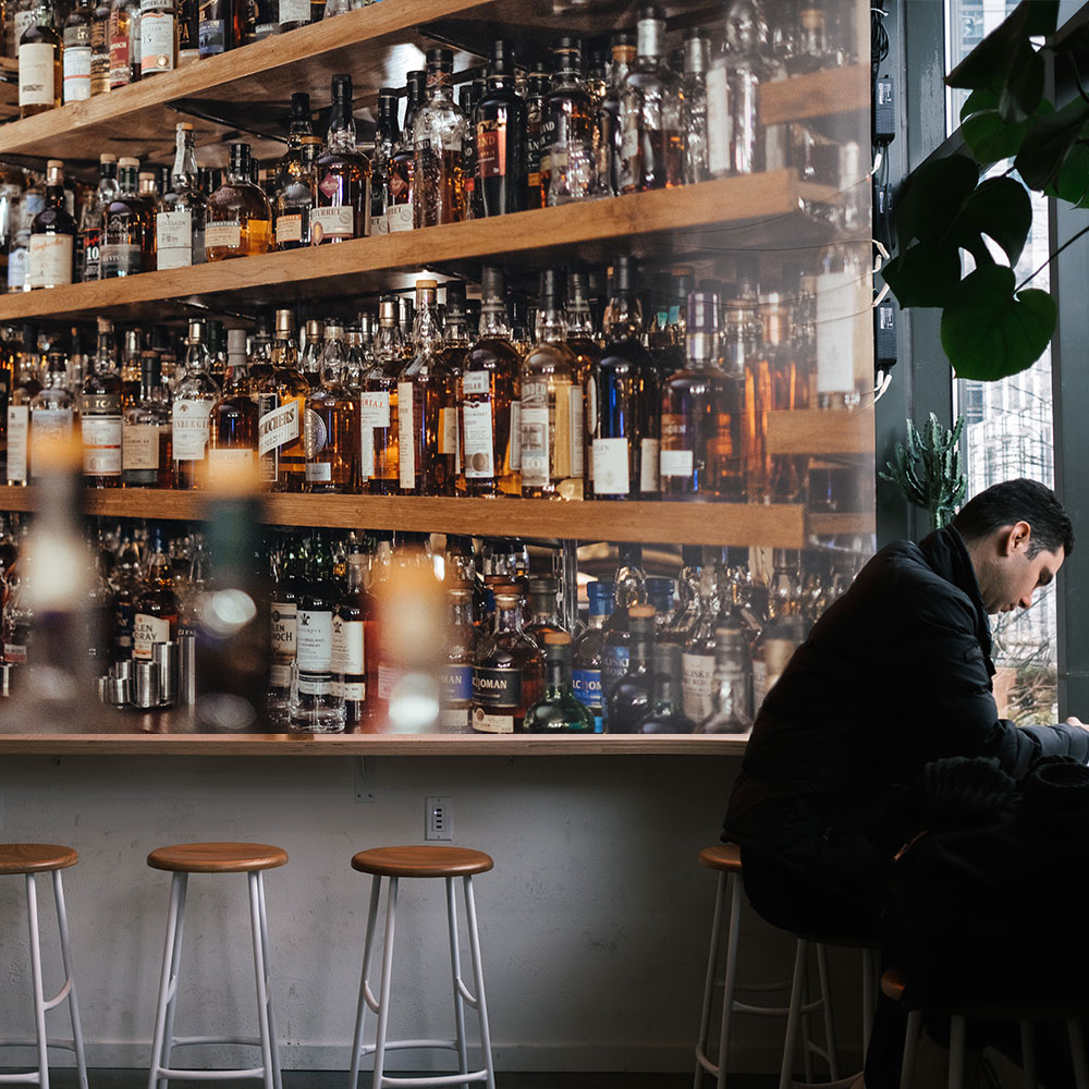 horeca whisky dublin behang