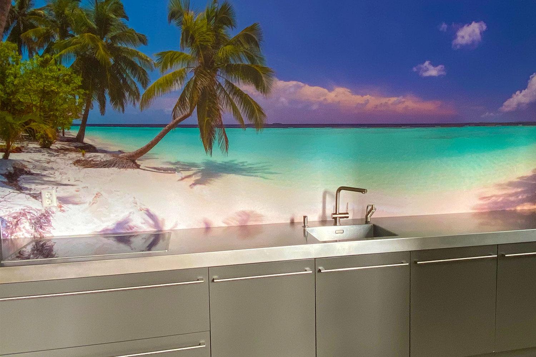 keuken tropisch