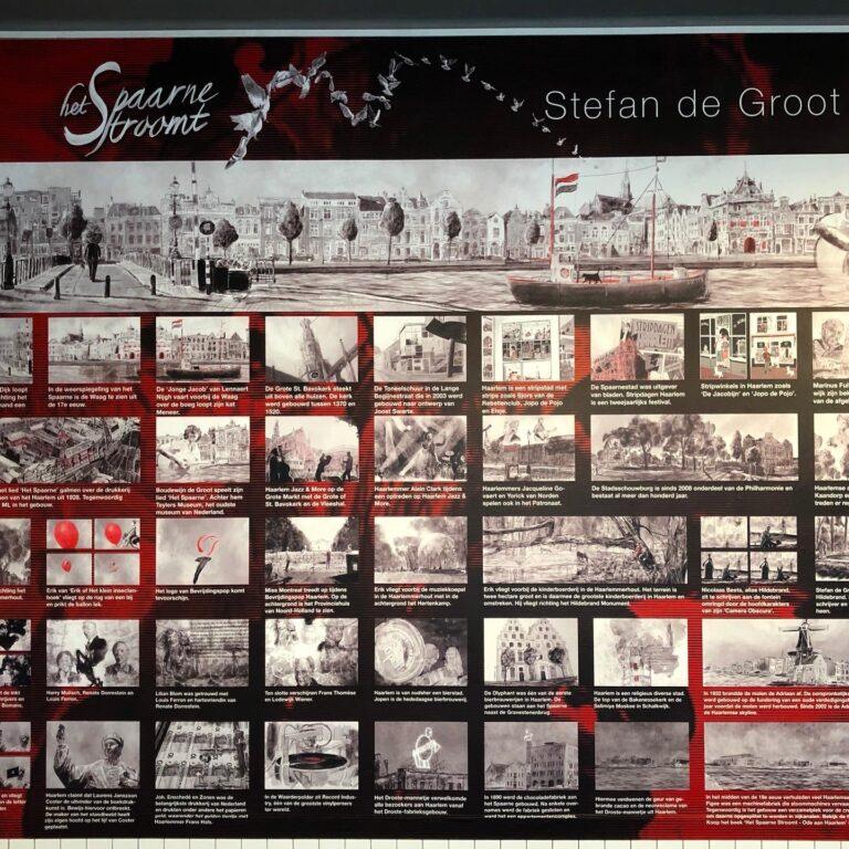 Fotobehang in Museum Haarlem