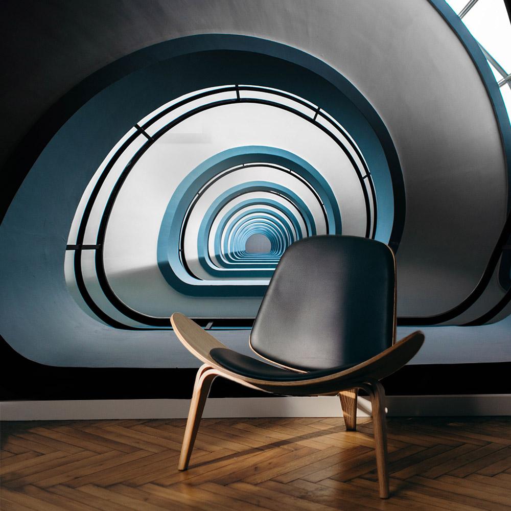 modern interieur antwerpen fotobehang