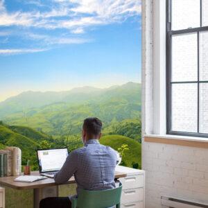 jungle werkkamer uitzicht