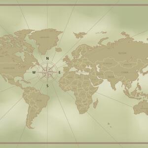 Foto 30 Wereldkaart