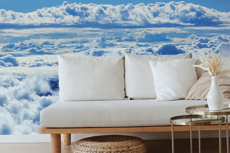interieur foto boven wolkendek