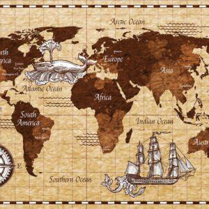 Foto 20 Wereldkaart