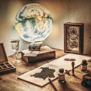 Foto 17 Wereldkaart