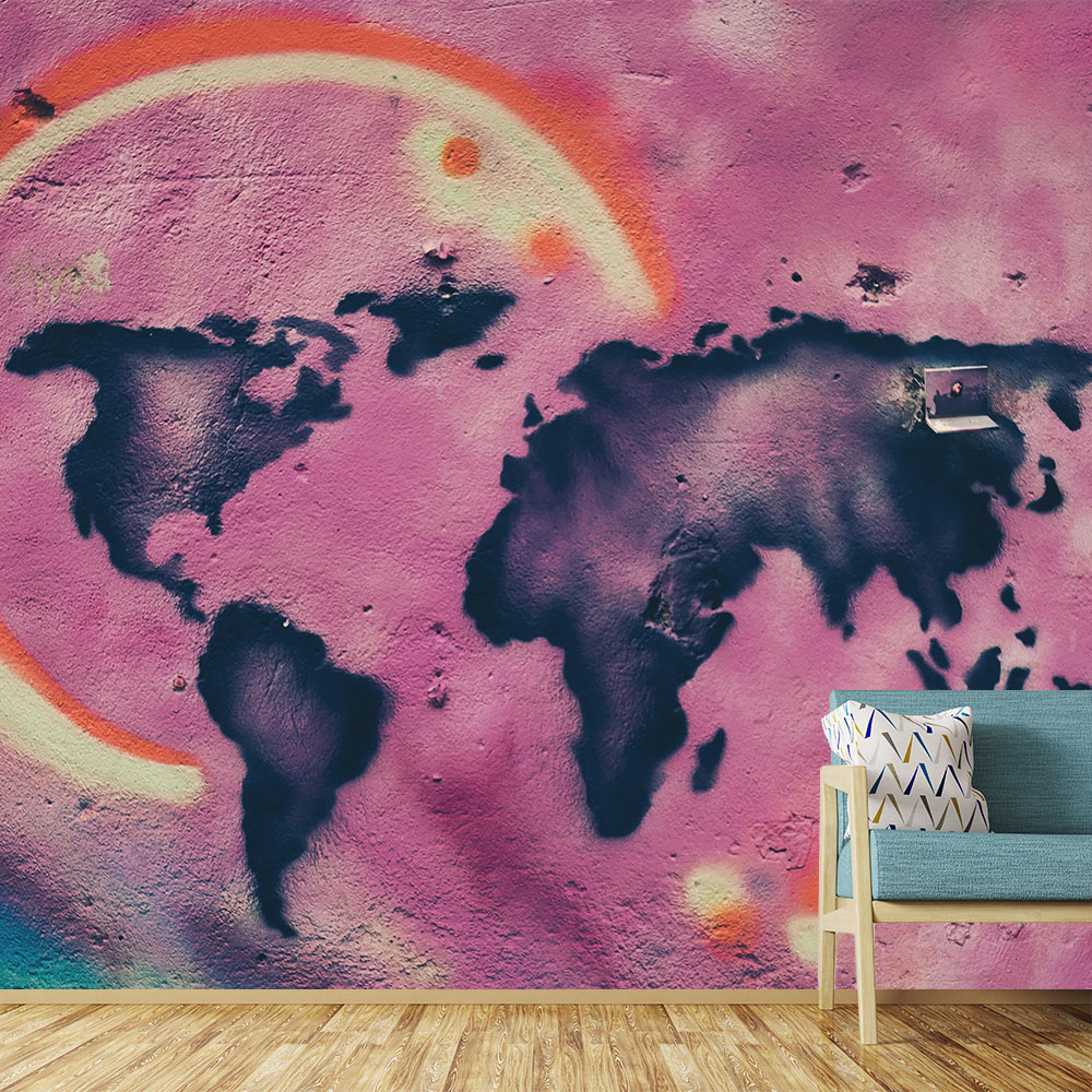 interieur inspiratie graffiti wereld