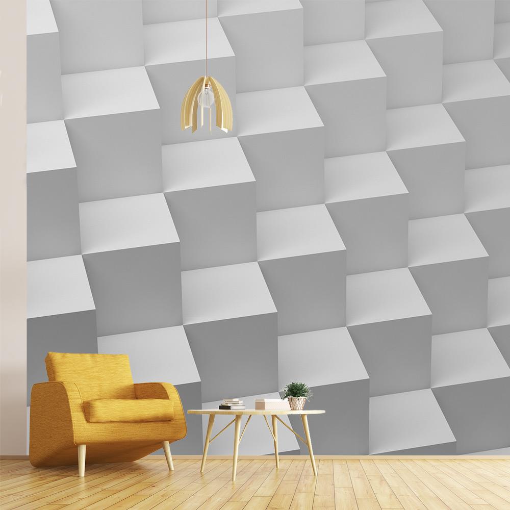 interieur 3D inspiratienbehang