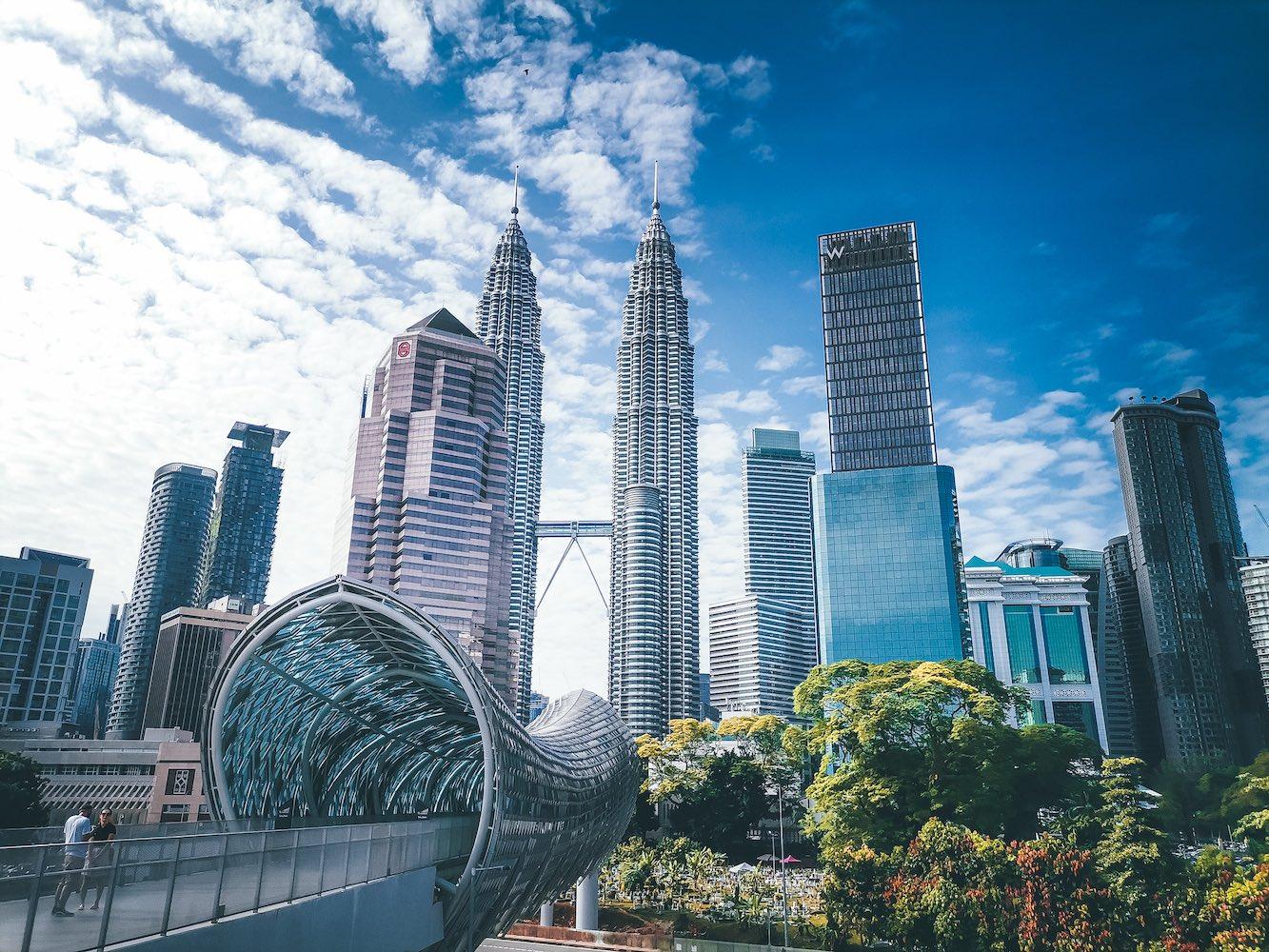 Kualu Lumpur skyline