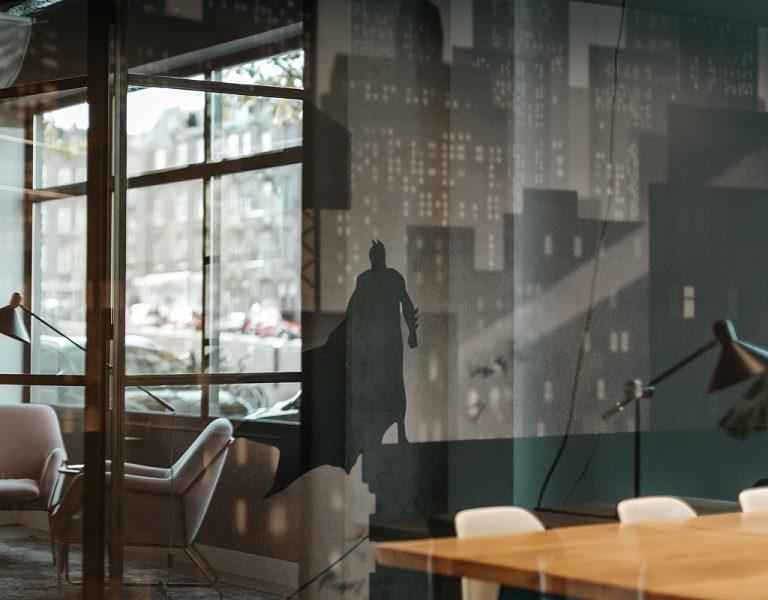 Fotobehang kantoor vergaderruimte inclusief montage