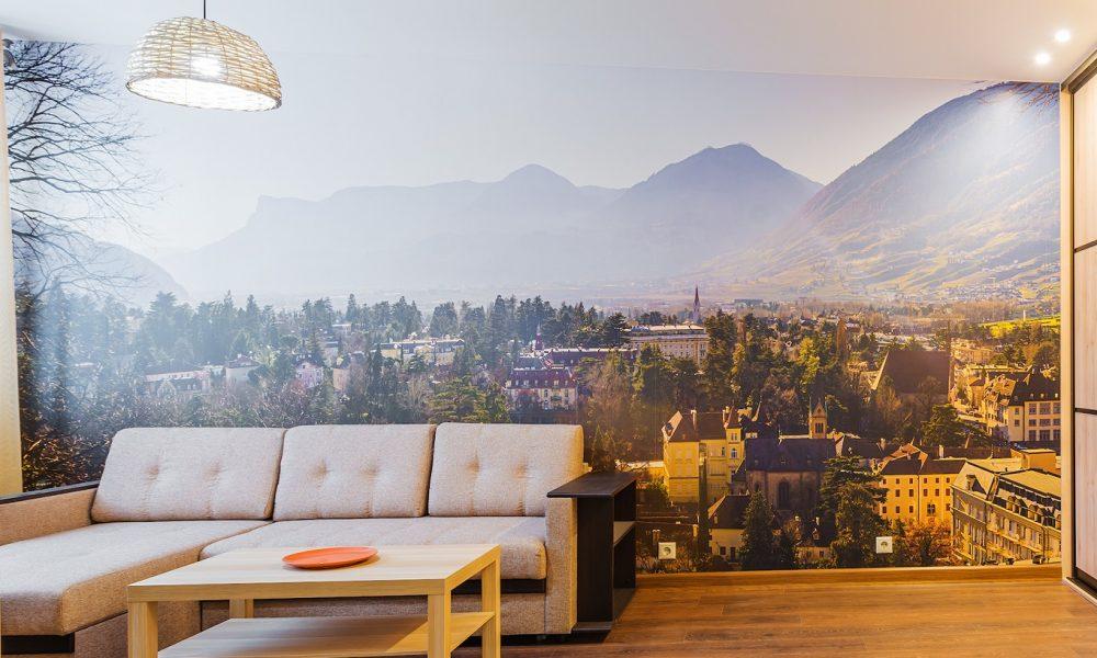 fotobehang voor woonkamer