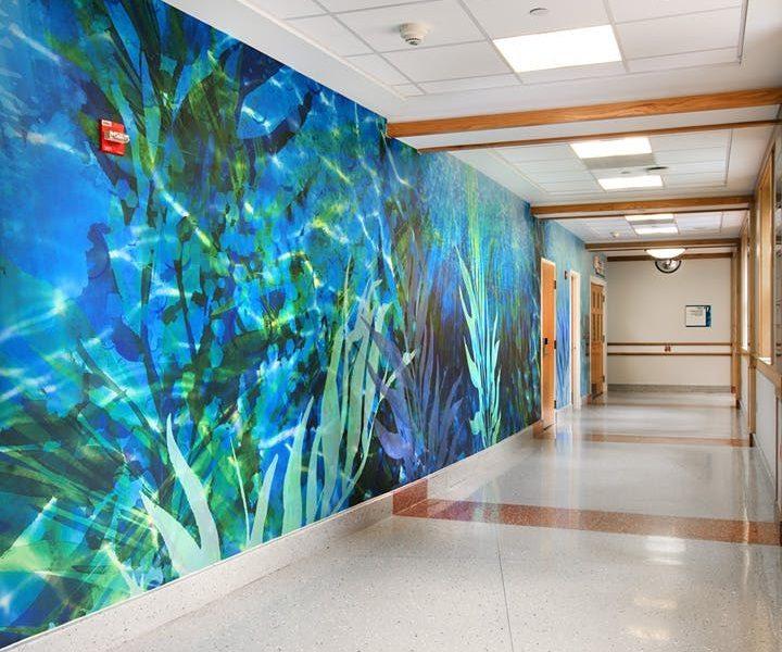 fotobehang ziekenhuis